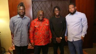 Black Avenue Muzik calls on Prez ahead of office launch