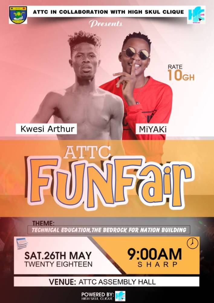 MiYAKi clashes with Kwesi Arthur this weekend at ATTC