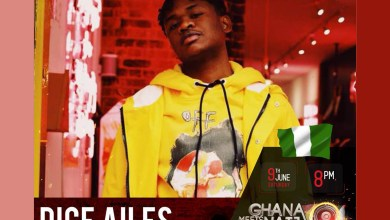 Photo of Dice Ailes for next Saturday's 2018 Ghana Meets Naija