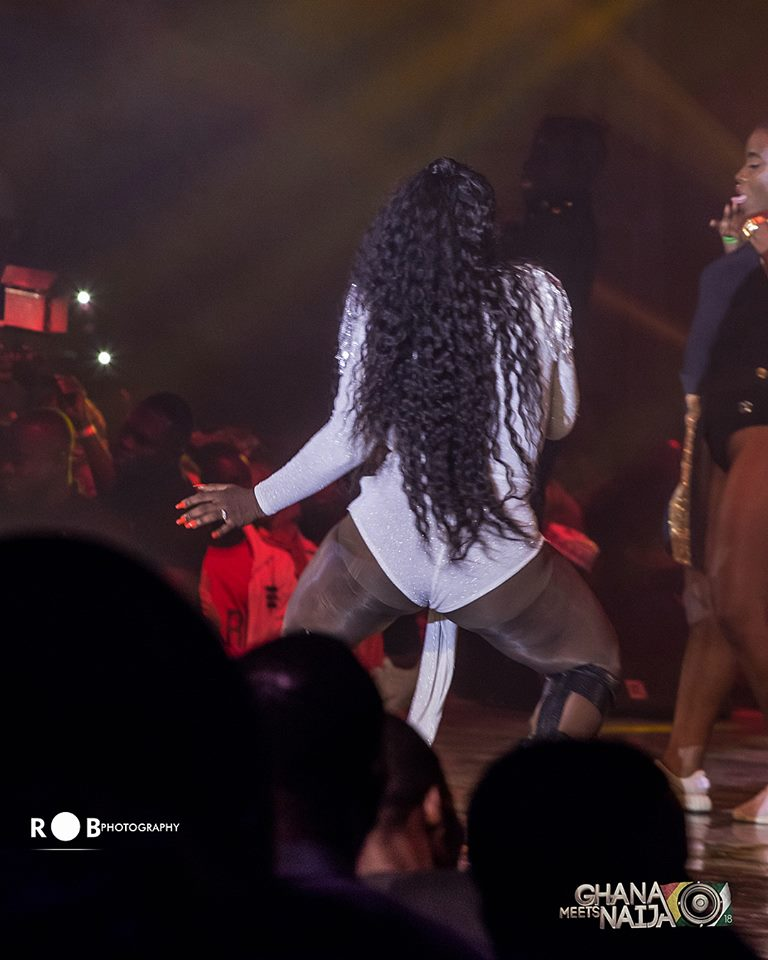 Sista Afia goes wild at 2018 Ghana Meets Naija