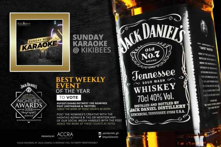 Kikibees Karaoke gets Jack Daniel's Night Life Awards nominations