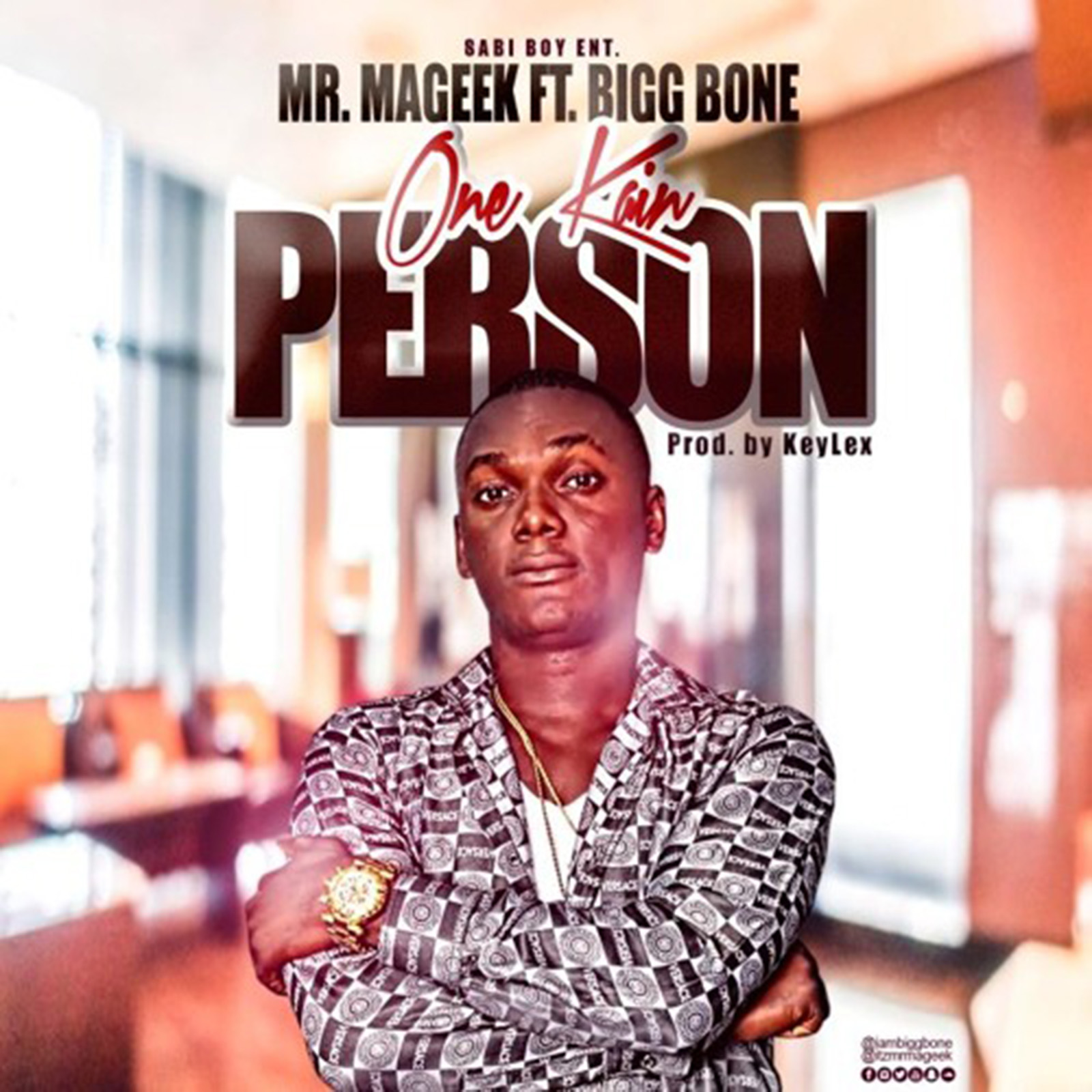 One Kain Person by Mr. Mageek feat. Bigg Bone