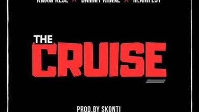 Photo of Audio: The Cruze by Kwaw Kese feat. Dammy Krane & M.anifest