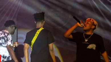 Video: Kwesi Arthur and Medikal joins Dice Ailes on stage