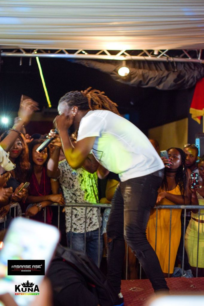 Fans in Italy want more as Samini rocks concert