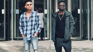 Kuami Eugene & KiDi thrill fans at a gig in Amsterdam
