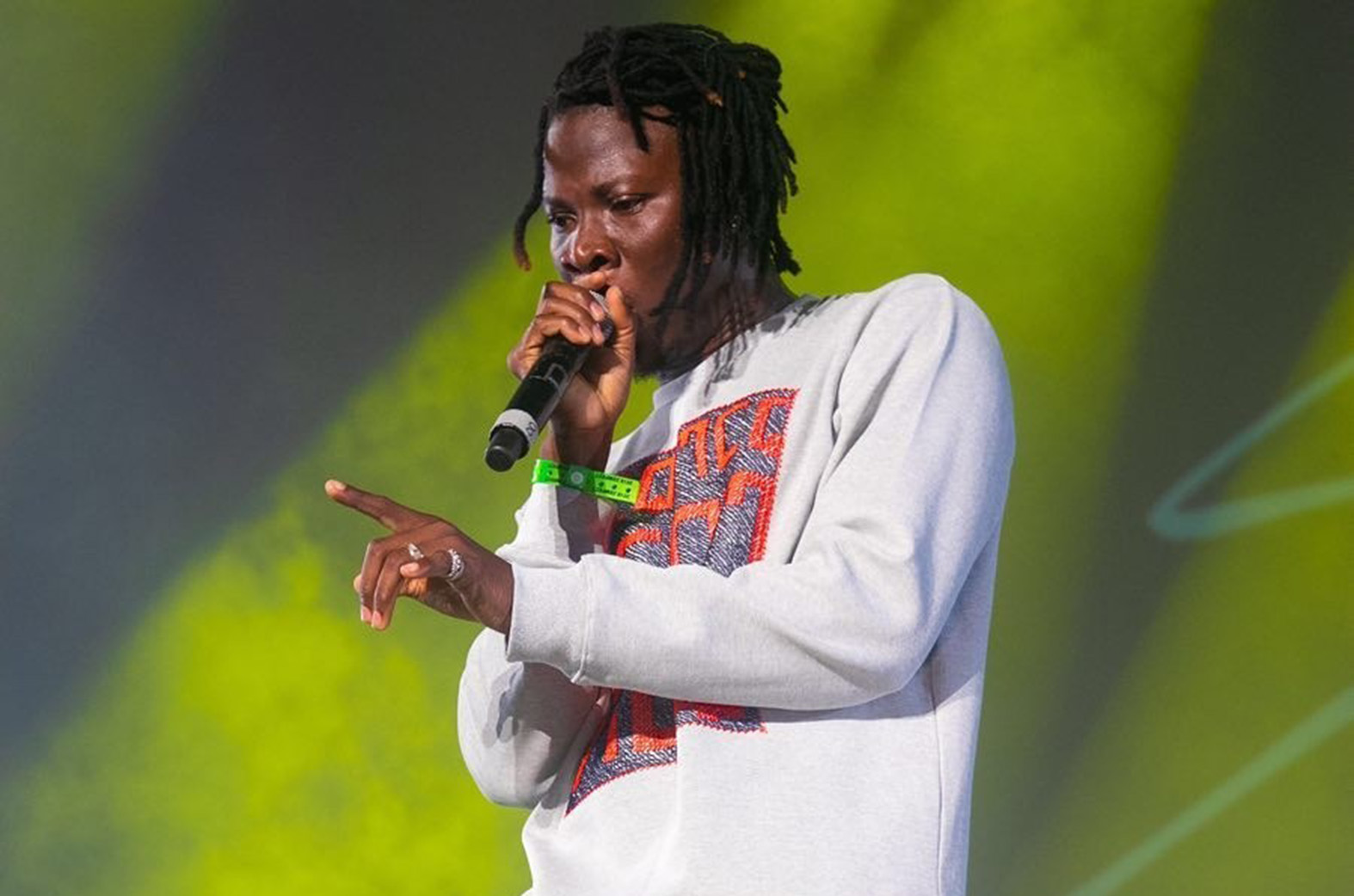 """""""I'm the first Ghanaian artiste to perform at Reggae SumFest""""- Stonebwoy"""