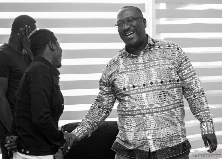 Shatta Wale liaises with key stakeholders to empower youth