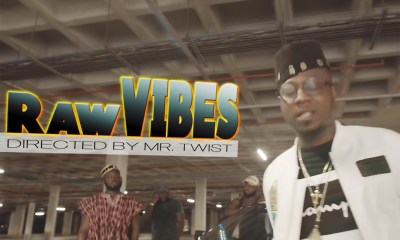 Video: Raw Vibes (Freestyle) by Flowking Stone