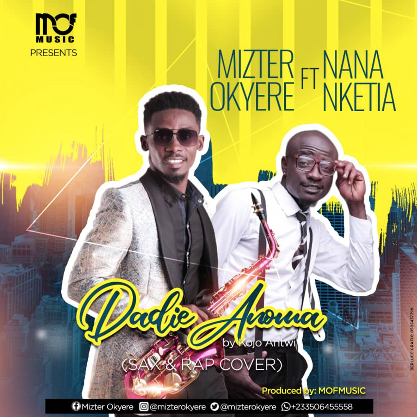 Dadie Anoma Cover by Mizter Okyere feat. Nana Nketia