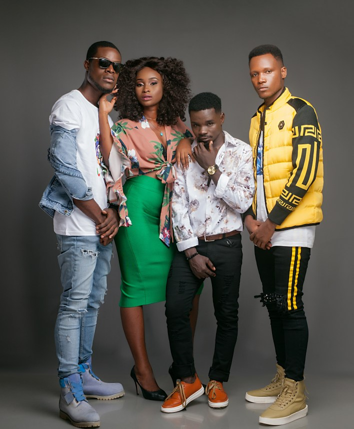 MTN Hitmakers outdoors top 12 contestants