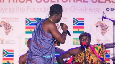 Photo of Okyeame Kwame stuns at Ghana-South Africa cultural seasons