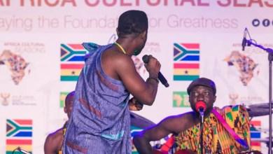Okyeame Kwame stuns at Ghana-South Africa cultural seasons