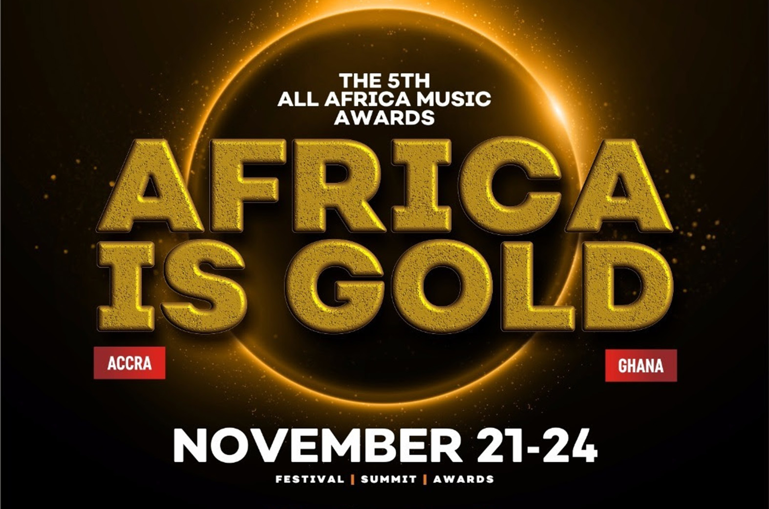 AFRIMA has announced its programme for Ghana 2018