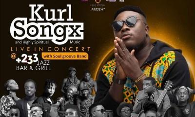 Kurl Songx & Highly Spiritual Music live in concert on 30th November.
