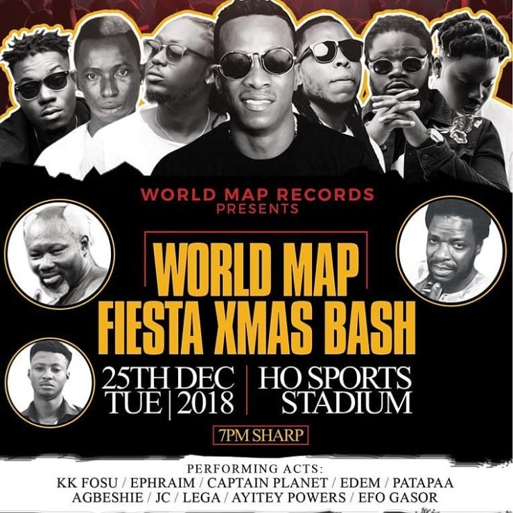 KK Fosu to shutdown Ho Sports Stadium with World Map Fiesta X'mas Bash