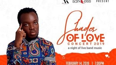 Photo of Akwaboah books Valentine's day for 2019 'Shades of Love' concert