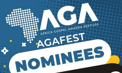 Joe Mettle, Joyce Blessing, Patience Nyarko & more nominated for 2019 Africa Gospel Music Awards Festival