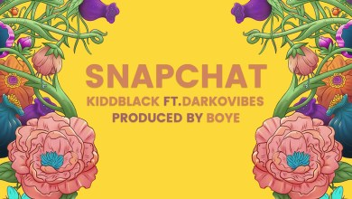 Photo of KiddBlack features Darkovibes in new single, 'Snapchat'