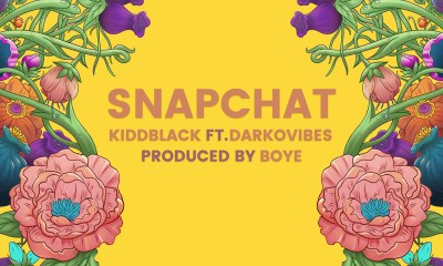 KiddBlack features Darkovibes in new single, 'Snapchat'