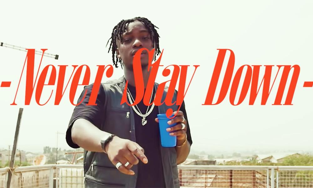 Video Premiere: Never Stay Down by Yaw Berk