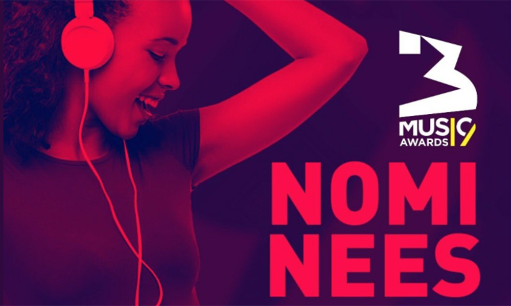 3 Music Awards 2019 full nominations announced
