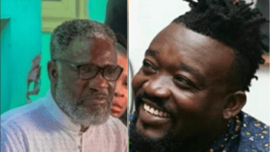 Photo of Ebony's father reunites with her manager, Bullet