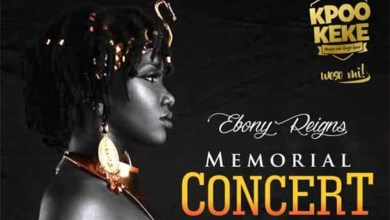 Photo of All set for Ebony Reigns Memorial Concert on March 29