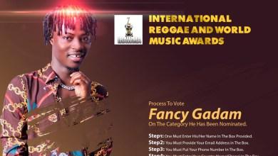 Photo of Fancy Gadam earns International Reggae and World Music Awards nomination