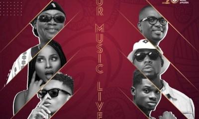 Adina, Teephlow, Amandzeba, others feature on new VGMA theme song