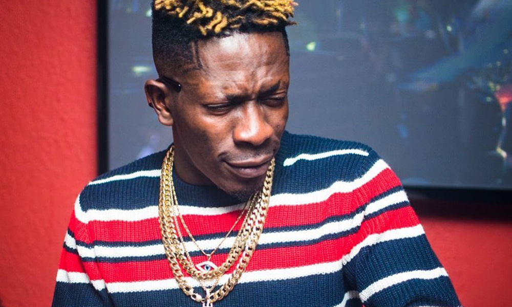 Shatta Wale brands Storm Energy Ginger drink with his logo