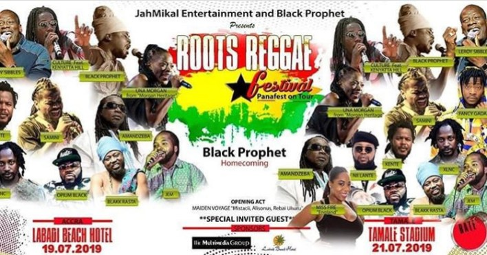 Black Prophet to host Una, of Morgan Heritage in Ghana