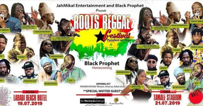 Black Prophet to host Una, of Morgan Heritage in Ghana