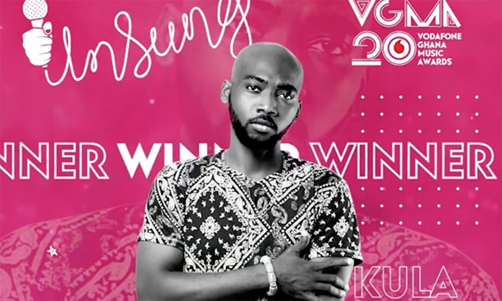 Kula wins 2019 VGMA Unsung category
