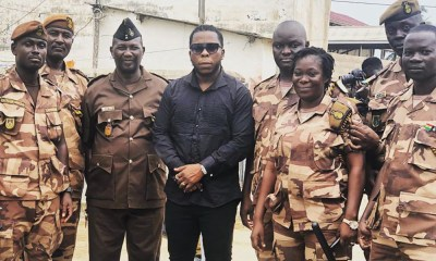 Edem sponsors 10 Toilet Facilities For Winneba Prison