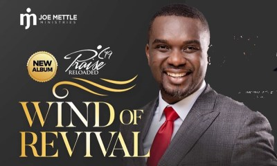 All set for Wind of Revival concert by Joe Mettle on June 30