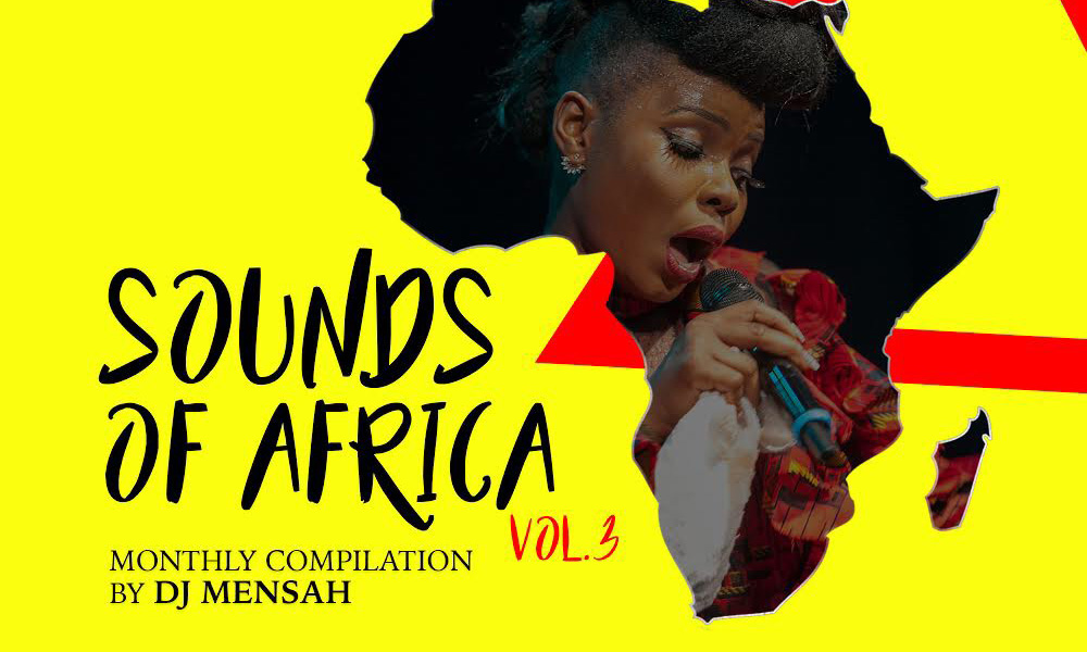 DJ Mensah out with Volume 3 of Sounds of Africa