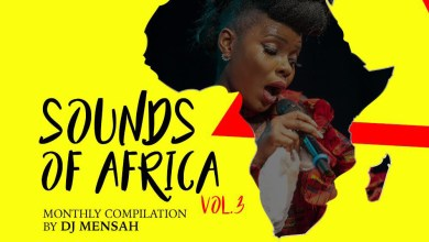 Photo of DJ Mensah out with Volume 3 of Sounds of Africa