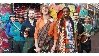 Photo of Soulsha: the funk mix of Senegalese & Scottish roots music