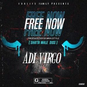 Free Now (Shatta Wale Diss) by Adi Virgo