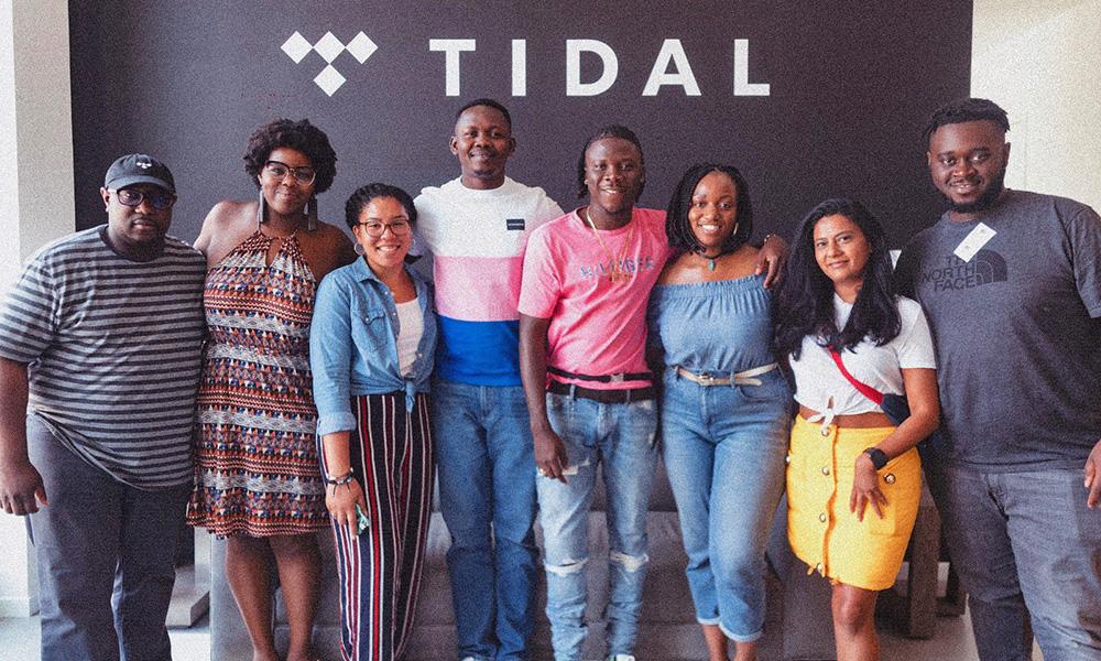 Stonebwoy visits music distribution platform, Tidal