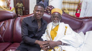 Photo of Stonebwoy featured in National Chief Imam's biography