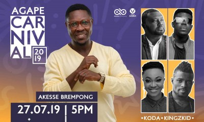 Akesse Brempong to host KODA, Kingzkid & more at Agape Carnival