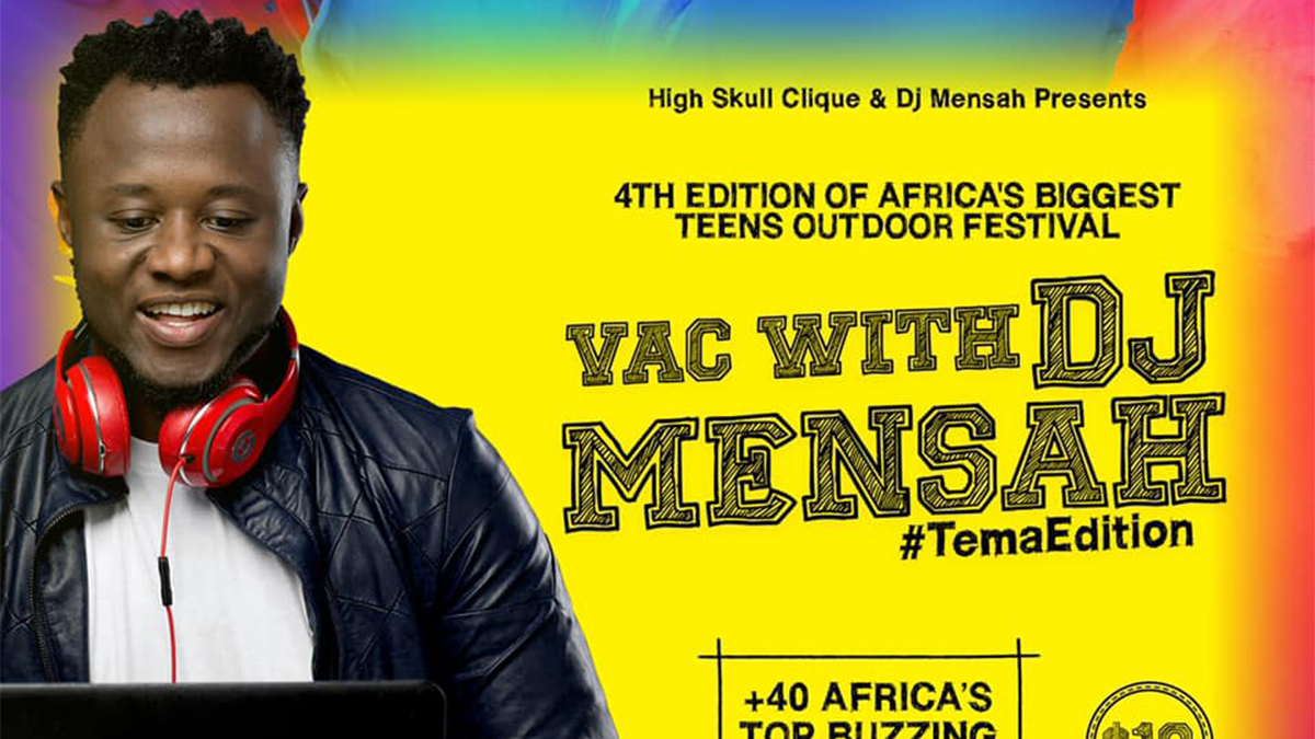 Vac With DJ Mensah to host over 40+ acts on August 30