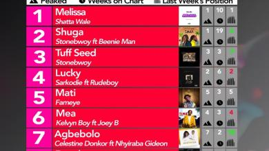 2019 Week 36: Ghana Music Top 10 Countdown