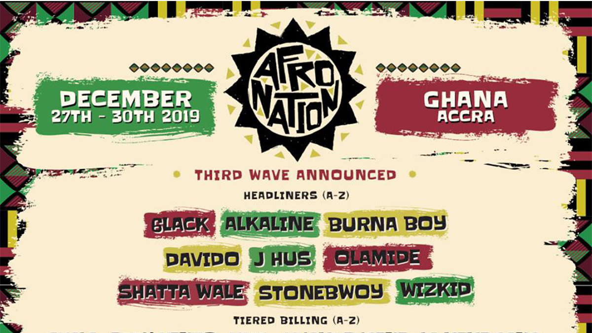 List of Global Music Stars to expect in Accra this December!