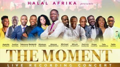 Akesse Brempong to share stage with Benjamin Dube, Ntokozo Mbambo, others, in South Africa