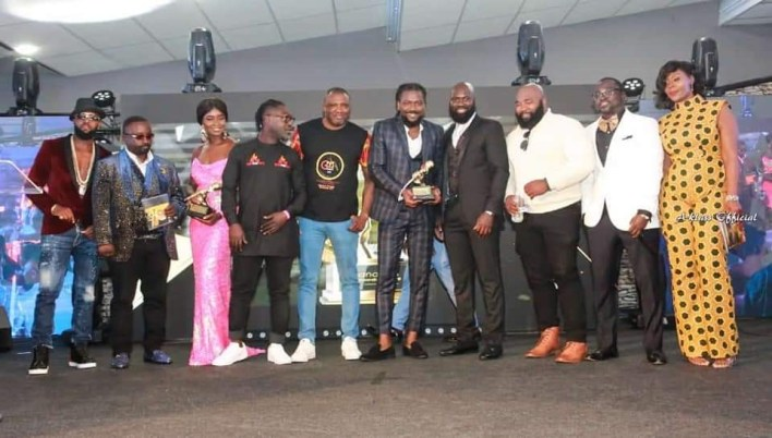 Samini honoured by Ghana Music Awards UK 2019