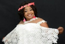Photo of Selina Boateng walks down the aisle on December 7