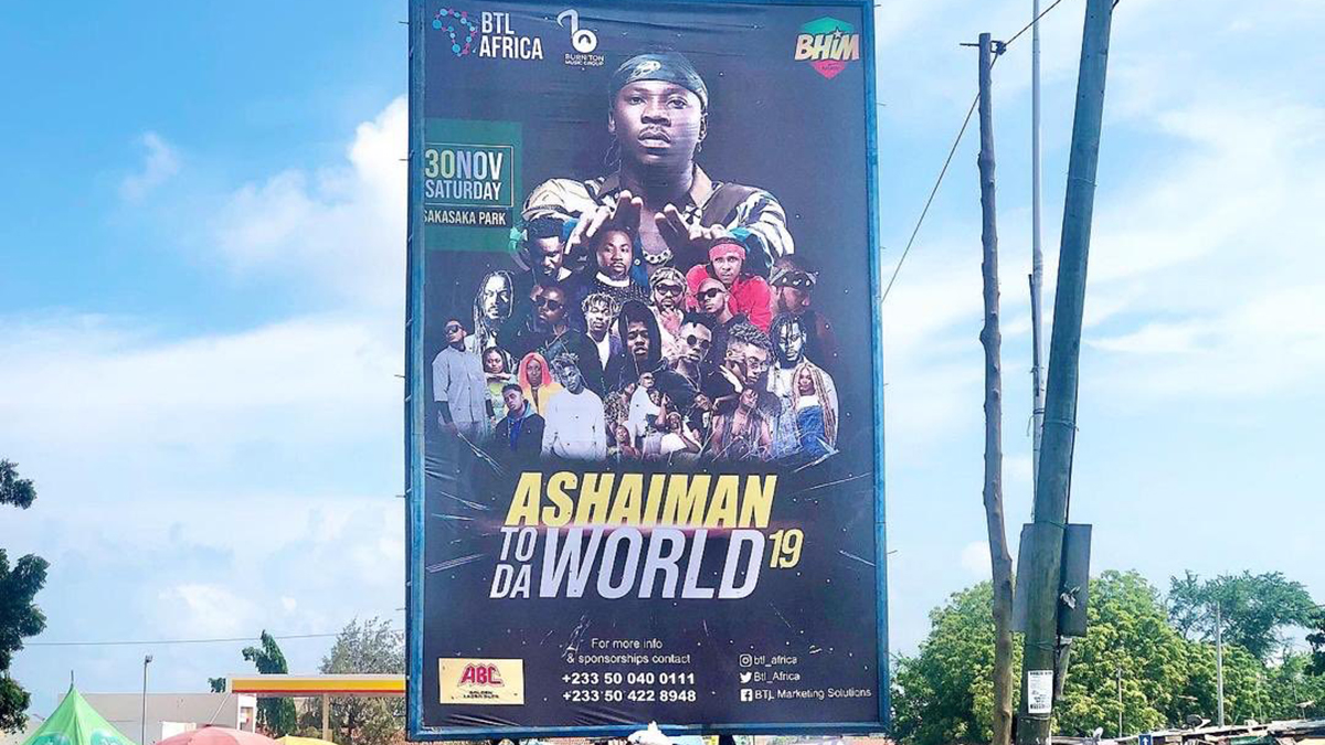 Build up to Stonebwoy's 2019 Ashaiman to the World Concert